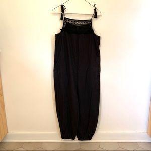 Black romper / jumpsuit